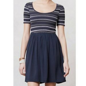 Saturday Sunday Pleated & Puckered Dress S